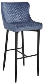 Барный стул Signal Meble Modern Colin B H-1 Velvet Grey/Black, 1 шт.