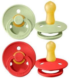 Bibs Colour Round Pacifier 2pcs Strawberry/Green 6-18m