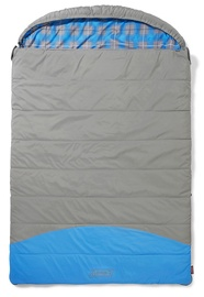 Coleman Basalt Double Sleeping Bag Grey/Blue