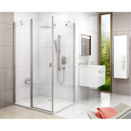 Statsionaarne dušisein Ravak CPS-90 1950 Glossy Transparent Glass