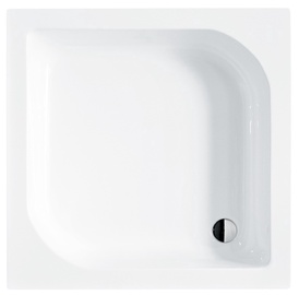 Besco Piramida Ares BAA-90-KW Shower Tray White 90x90x16.5cm