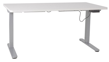 Письменный стол Home4you Ergo-2 White/Gray