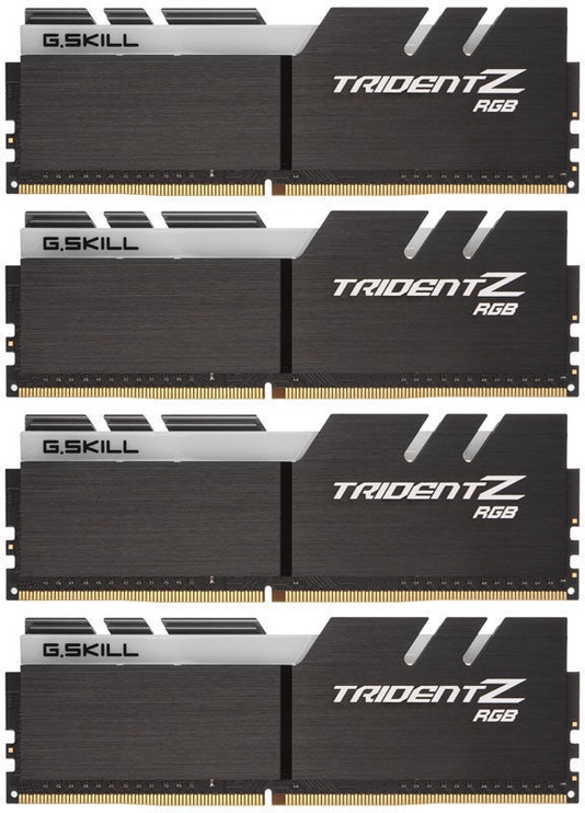 G.SKILL Trident Z RGB 64GB 3600MHz CL17 DDR4 KIT OF 4 F4-3600C17Q-64GTZR