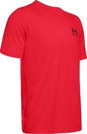 Under Armour Mens Sportstyle LC Back T-Shirt 1347880-600 Red L