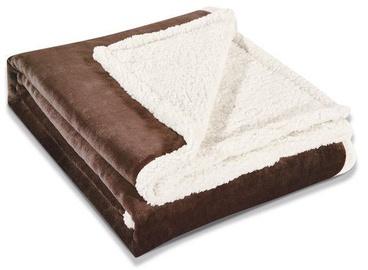 Одеяло DecoKing Teddy Brown, 220x240 см