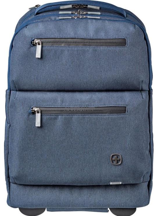 Wenger Rolling Laptop Backpack 15.6'' Blue