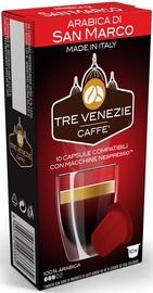 Cafee Tre Venezie Arabica Di San Marco komposteeritavad kohvikapslid, 10 kapslit