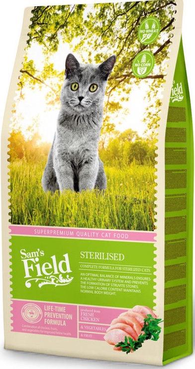 Sam's Field Cat Sterilized 7.5kg