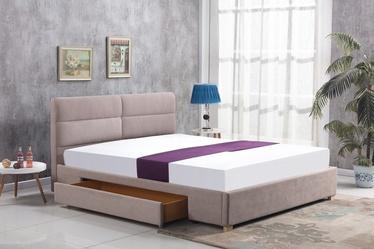 Кровать Halmar Merida Beige, 160 x 200 cm
