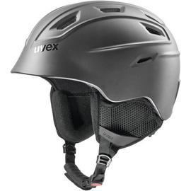 Uvex Fierce Ski Helmet Black Matt 51-55