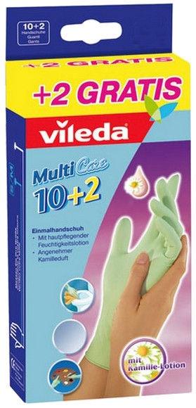 Vileda Gloves Multi Care S/M 10+2pcs