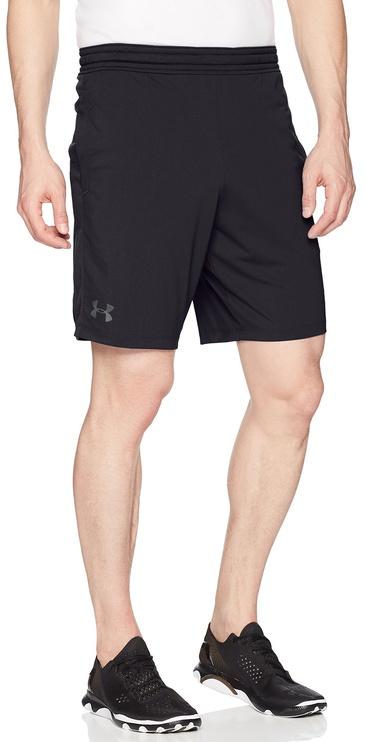 "Under Armour Shorts Raid 2.0 9"" 1306434-001 Black XL"