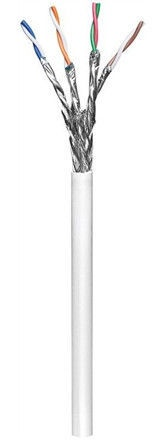 Goobay Network Cable CAT 6 S/FTP PiMF 100m White