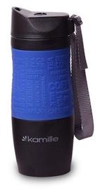 Kamille Vacuum Mug 380ml Blue KM2052A