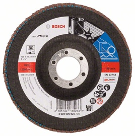 Bosch Abrasive Grinding Disc K80 125mm