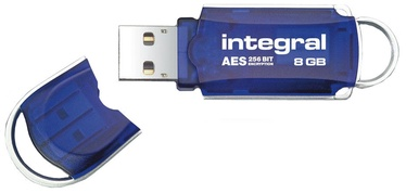 USB mälupulk Integral Courier FIPS 197, USB 3.0, 8 GB