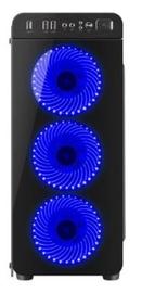 Natec Irid 300 Midi Tower Black/Blue