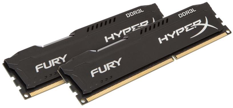Kingston 16GB 1600MHz DDR3L CL10 HyperX Fury Black KIT OF 2 HX316LC10FBK2/16