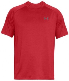 Under Armour Tech 2.0 Short Sleeve Shirt 1326413-600 Red L