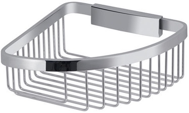 Gedy Barbados Corner Basket Chrome