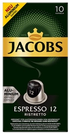 Jacobs Espresso 12 Ristretto 10 Capsules