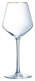Veini klaas Eclat Ultime Universal Gold Rim, 0.38 l, 4 tk