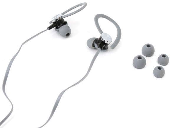 "Platinet 2in1 In-Ear Sport Stereo Headset + Armband Smarthone Case 5"" Max Grey"