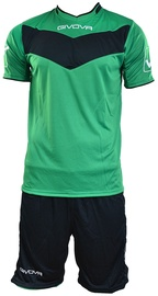 Givova Vittoria Set Green/Black XS
