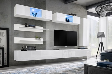 ASM Fly L3 Living Room Wall Unit Set White