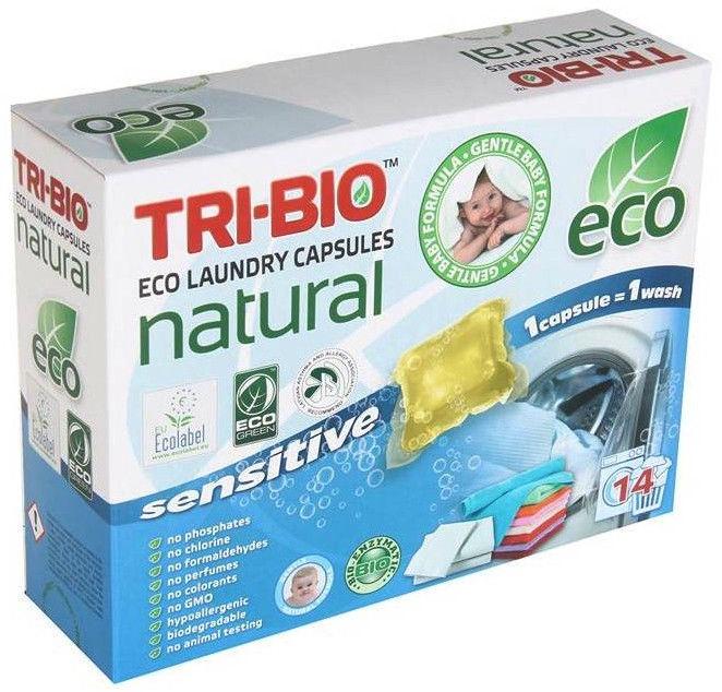 Tri-Bio Eco Laundry Capsules Sensitive 14pcs
