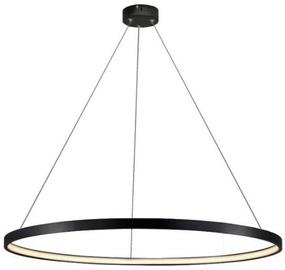 Light Prestige Ring Hanging Lamp Small 4000K Black