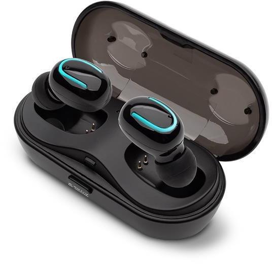 Savio Wireless Bluetooth TWS-05 Earphones Black