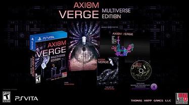 BadLand Games Axiom Verge Multiverse Edition PSV