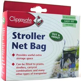 Clippasafe Stroller Net Bag Black