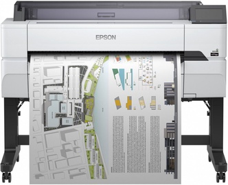Струйный принтер Epson Surecolor SC-T5400, цветной