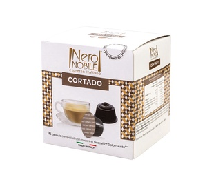 Kohvikapslid NeroNobile Dolce Gusto Cortado, 16 tk.