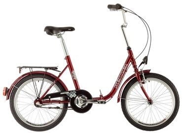 """Kenzel Camping 20"""" 3 Speed Red 17"""