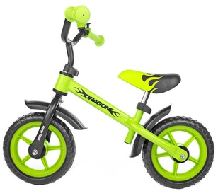 Lastejalgratas Milly Mally DRAGON Balance Bike Green 4867