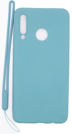 Evelatus Soft Touch Back Case With Strap For Huawei P30 Lite Blue