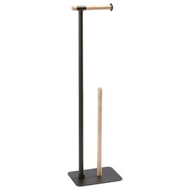Aquanova Oscar Toilet Paper Holder Black
