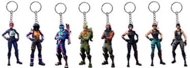 Mängukujuke Jazwares Fortnite 2D Key Chain