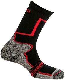 Mund Socks Pamir Black/Red 46-49