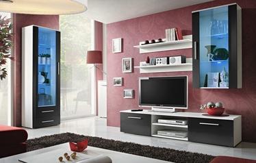 ASM Galino F Living Room Set White/Black Gloss