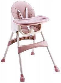 Стульчик для кормления EcoToys 2in1 Pink