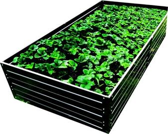 Klasika Raised Bed Garden 1500x750x300mm Grey