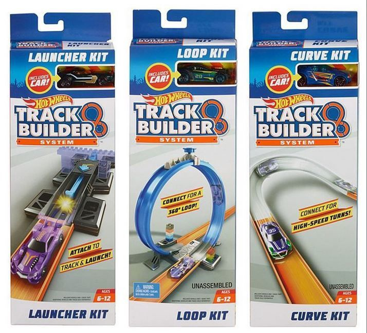 Mattel Hot Wheels Track Builder System Add On FPF03