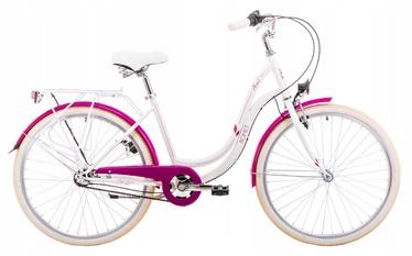 "Romet Angel 3 19"" 26"" White Pink 19"