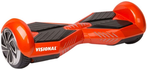 Visional X-type Hoverboard 6.5'' With Bluetooth Red
