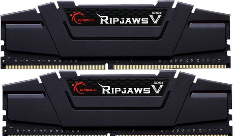 G.SKILL RipjawsV 32GB 3200MHz DDR4 CL16 DIMM KIT OF 2 F4-3200C16D-32GVK