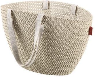 Curver Shopping Bag Knit Emily White
